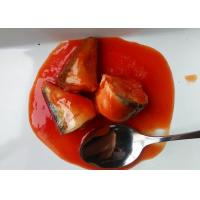 Quality Tinned Mackerel Fish Body Part / Tail / Whole Piece In Tomato Sauce wholesale