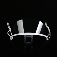 Quality Spittle Prevention Transparent Plastic Face Mask For Dental wholesale