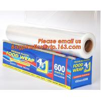 Quality Newly design household food grade excellent quality factory price cling film, pe food plastic wrap wholesale