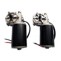 Quality Garage Door Motors 12V / 24 V Permanent Magnet Industrial DC Worm Gear Motor wholesale