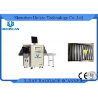 Cheap High Clear Image Airport Baggage Scanner Small Size With Single Energy X-Ray for sale