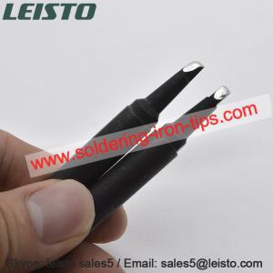 Quality Black chromium Unix Cross bit P130BCPC soldering iron tips for Japan Unix soldering robot wholesale
