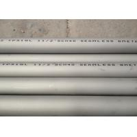 China Drilling Platform Application TP316L/AISI316L SS Seamless Pipes And Tubes on sale