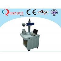 Quality Stainless Steel Iron Fiber Laser Etching Machine For Metal 10W Air-Cooling wholesale