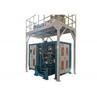 China 50kg Bag Grain Packing Machine For Animal Food 3 phases voltage 14 kW on sale