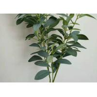 Quality Indoor Outdoor Artificial Tree Branches With Leaves Green Artificial Leaves Plants wholesale