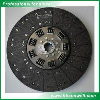 China 1878002878  Diesel Engine Spare Parts / DAF Truck Clutch Disc Replacement on sale
