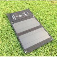 China Dual USB Solar Charger 15W - Foldable Solar Panel Phone Charger,Portable Solar Power Charger for Camping & Outdoors on sale