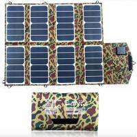 Quality Fashional USB Solar Panel Portable Charger 52W Auto Stop Protection wholesale