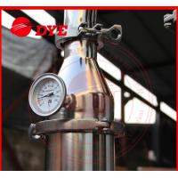 Quality DYE 70Kg Miniature Alcohol Home Distilling Machine 3mm Thickness wholesale