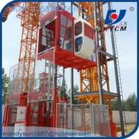 Quality SC100/100 Double Cages Material Construction Elevator for Bridge with Safety Device wholesale