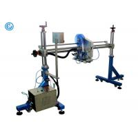 Production Line Expanded Bottle Labeling Machine Gantry One Head