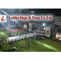 Quality Aluminum Box Truss for Sports Meeting , stage lighting truss wholesale