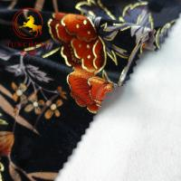 Quality wholesale burnout 100% silk velvet fabric wholesale