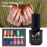 Quality chinese manufactuer fashion women thermal gel color change nail polish wholesale