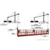 Quality 380V / 50HZ ZLP 500 Hanging Suspended Platform Cradle With 30KN Safety Lock for sale