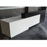 Quality Contracted Style Fashion Retail Store Checkout Counters Black And White Color wholesale
