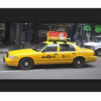 Buy cheap high quality high resolution Waterproof P4 Taxi Top led screen for Advertising from wholesalers