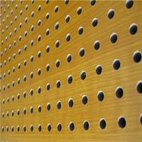 Quality Mdf Acoustic Board Wooden Timber Perforated Sound Absorbing Panels wholesale