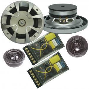 Quality 5.25 Inch Fiberglass Cone Ferrite Magnet Speaker 40 Watt With 25mm Tweeter wholesale