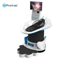 Quality 120kg 32 Inch 220V 1 Player Crazy 9D Virtual Reality Simulator Thrilling Experience VR Slide wholesale
