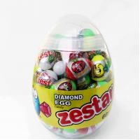 Quality 6g Diamond and Dinosaur Egg Shape Healthy Hard Candy ,Healthier Lollipop with good price wholesale