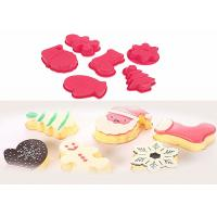 Quality Red Food Grade Silicone Birthday Cake Molds , Silicone Food Molds For Freezers wholesale