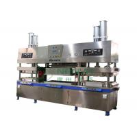 China Manually Moulded Pulp Disposal Paper Plate Making Machine for Paper Cup / Plates / Bowls Forming on sale