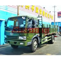 Quality 10 - 12 Tons Cargo Transport Truck FAW 6 Wheelers 4 X 2 High Sidewall Body wholesale