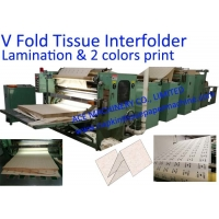China 200mm Laminated V Fold Facial Tissue Paper Machine on sale