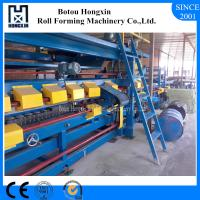Quality ISO EPS Rock Wool Sandwich Panel Production Line With Hydraulic Pump wholesale