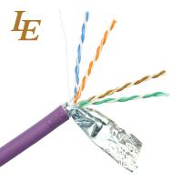 Quality Twisted Ethernet Network Lan Cable Customizable U / UTP Cat 5e 4 In 1 Unshielded wholesale