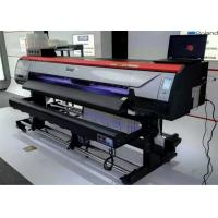 Quality 1.8m 1440dpi Digital Large Fomat Pring Machine Digital Vinyl Flex Banner Solvent Printer wholesale