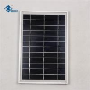 Quality 6V 6W Aluminum frame solar panel for portable solar charger ZW-6W-6V Glass Laminated Solar Panel wholesale
