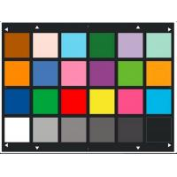 Quality Reflective Type Picture Resolution Chart YE0188 Color Photography Graphic Artscolors wholesale