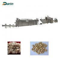 China Stainless Steel Soy Histone Food Extruder Machine , Twin Screw Extruder Line on sale