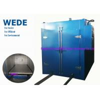 Quality Blue Automatic Powder Coating Machine , Varnish Industrial Powder Coating Oven wholesale