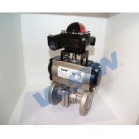 Quality Durable Two Way Pneumatic Valve Medium Temperature High Performance wholesale