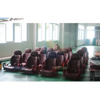 Quality Flat / Arc / Circular / Globular Screen 5D Cinema System With Motion Theater Chair wholesale