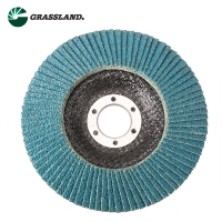 Quality 115mm 60 Grit Zirconium Angle Grinder Sanding Flap Disc wholesale