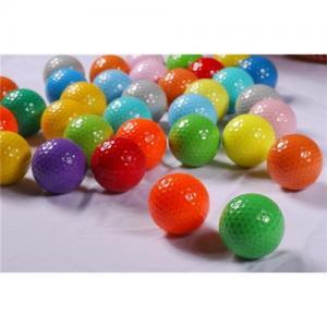 China Color golf ball on sale