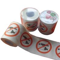 Quality patterned toilet paper roll  2ply  250 sheets 100% virgin pulp printed toilet paper wholesale