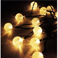 Buy cheap Multi Color IP44 Outdoor Solar String LED Lights Dia 6.5× 25.5cm from wholesalers