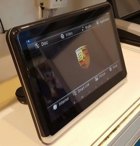 Quality Multimedia Player Car Dvd Headrest Monitors 10.1 Inch ARM Quad Cortex-A7 1.3Ghz CPU wholesale