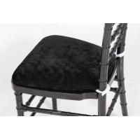 Quality Resin Napoleon Chair Seat Pads , Sponge Button Wood Napoleon Chair Cushions wholesale