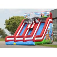 Quality Large Circus Commercial Inflatable Slide Elephant Infatable Dry Slide wholesale
