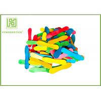 Quality Colorful Wooden Craft Sticks Kids DIY Tools With FSC Certificated wholesale