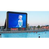 China Outdoor Cinema Projector Screen , Giant Inflatable Movie Screen With Projector on sale