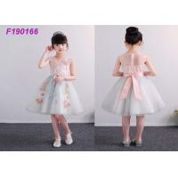 Quality Unique Boutique Childrens Flower Girl Dresses For 100-110cm 2 Years Kids Anti Static wholesale