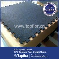 China Cheap rubber flooring for gym on sale